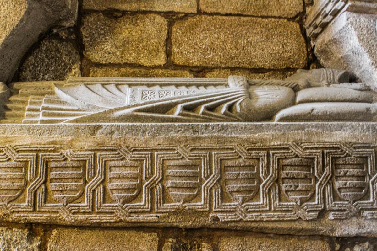 14C tomb, probably Bishop Juan de Castro