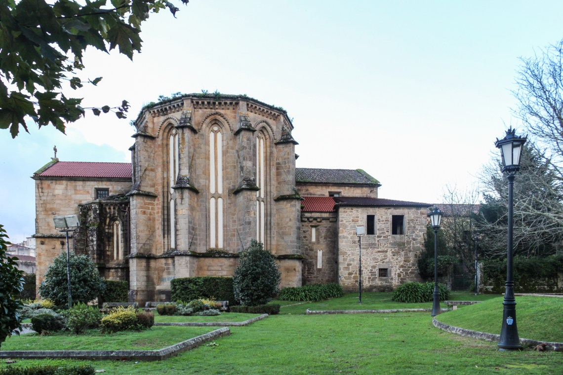 Church and Monastery of Santa Domingo on the Mino River