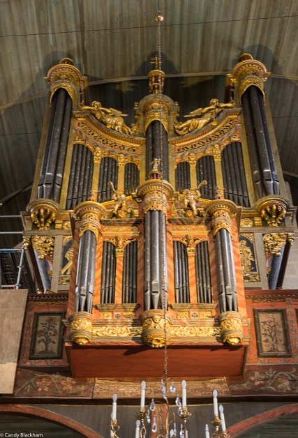 Organ by Jacques Mascard in Saint-Thegonnec