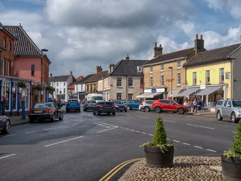 Centre of Holt in North Norfolk