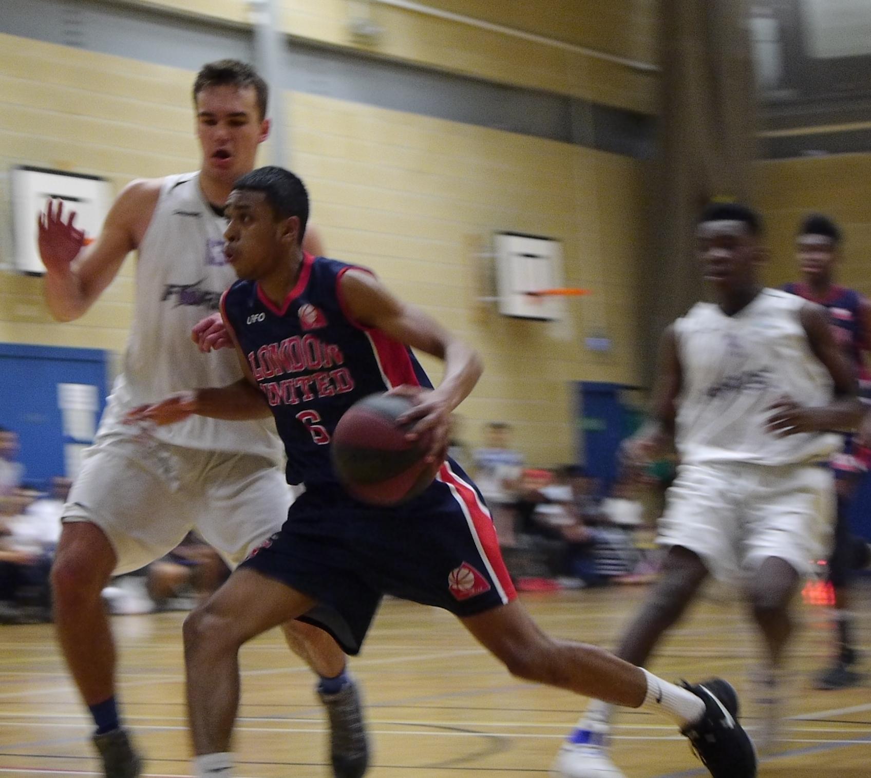 London United Basketball Elias Poorman