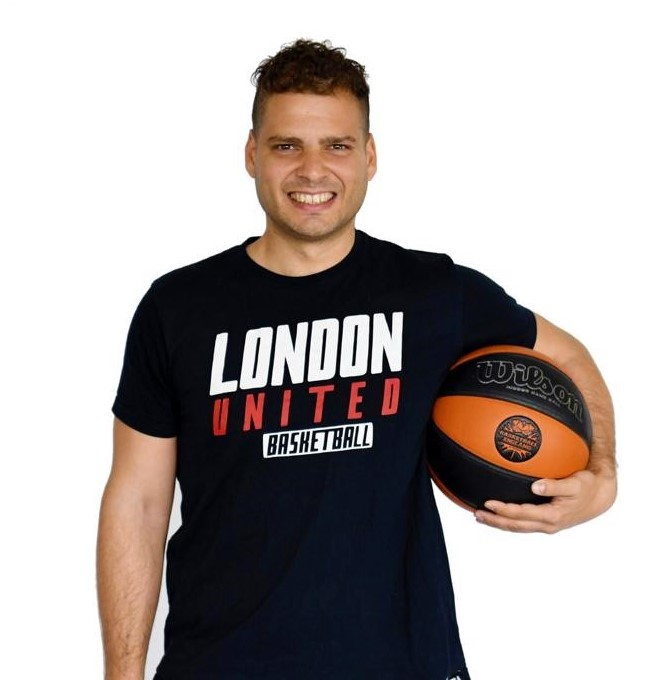 Lipe Cristobal Galindo London United Basketball