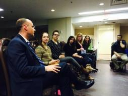 2014-2015 Councillors with Mayor Matt Brown