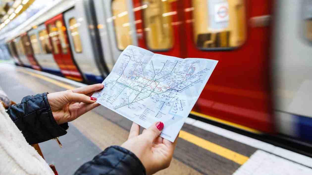 metropolitana londra mappa