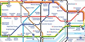 mappa zone londra metro