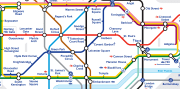 Mappa della metropolitana di Londra - Zone, Linee e Prezzi