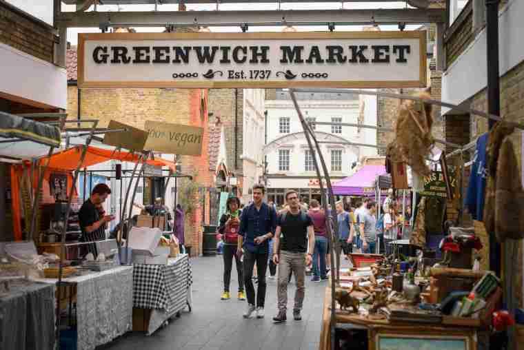 cosa comprare al greenwich market londra vintage