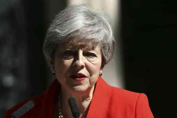 theresa may dimissioni
