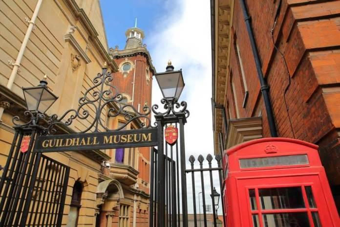 guildhall müzesi giriş