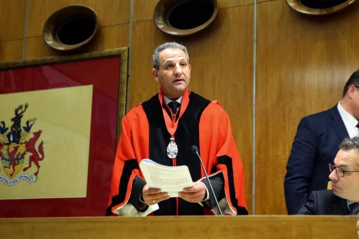 Sabri Özaydın Enfield Belediye Başkanı oldu - Londra Gazete
