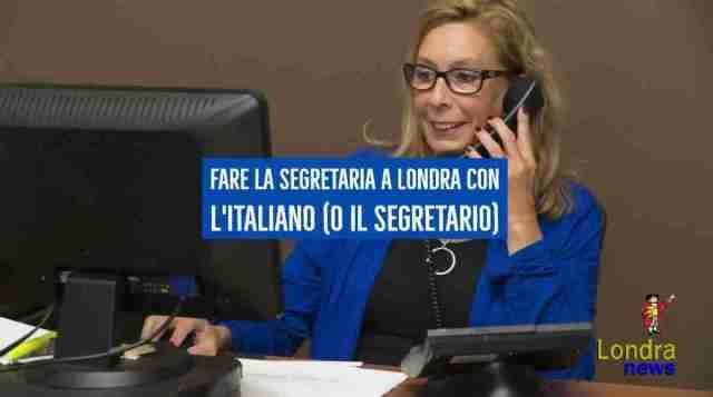 segretaria a londra