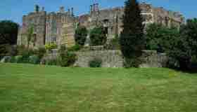 Il castello di Berkeley nel Gloucestershire, un antico castello normanno