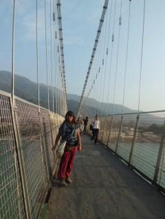 Crossing Rishikesh