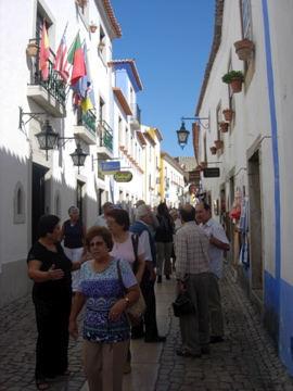 Old folks in Obidos