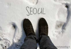Seoul on foot