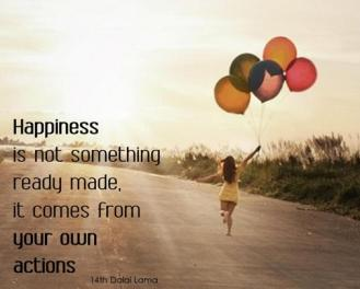Happiness-comes-from-your-own-actions