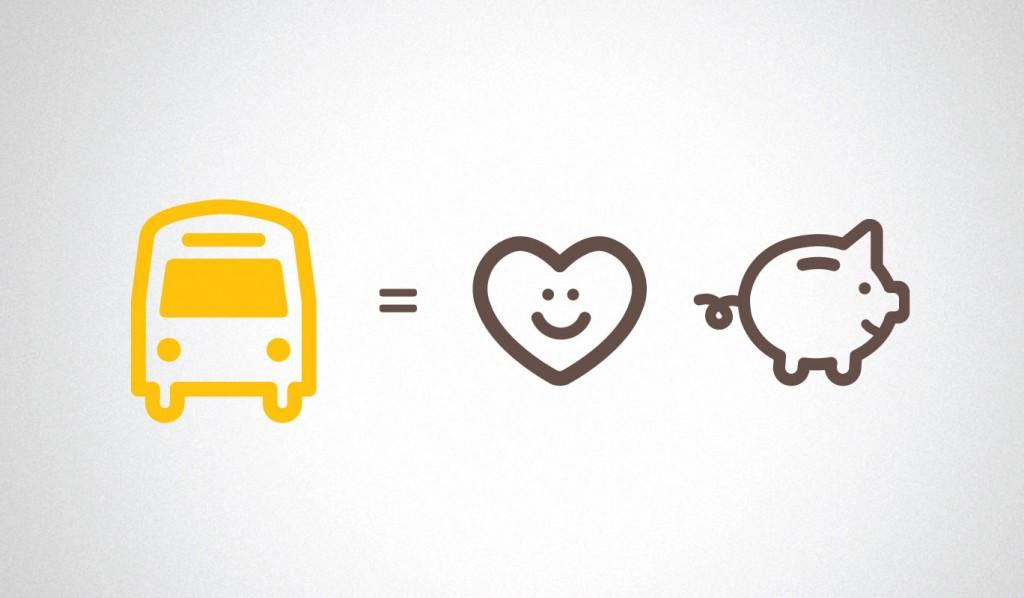 Take public transport or carpool