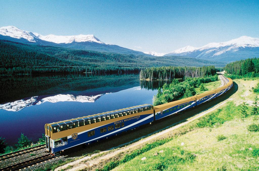 Take the train to travel