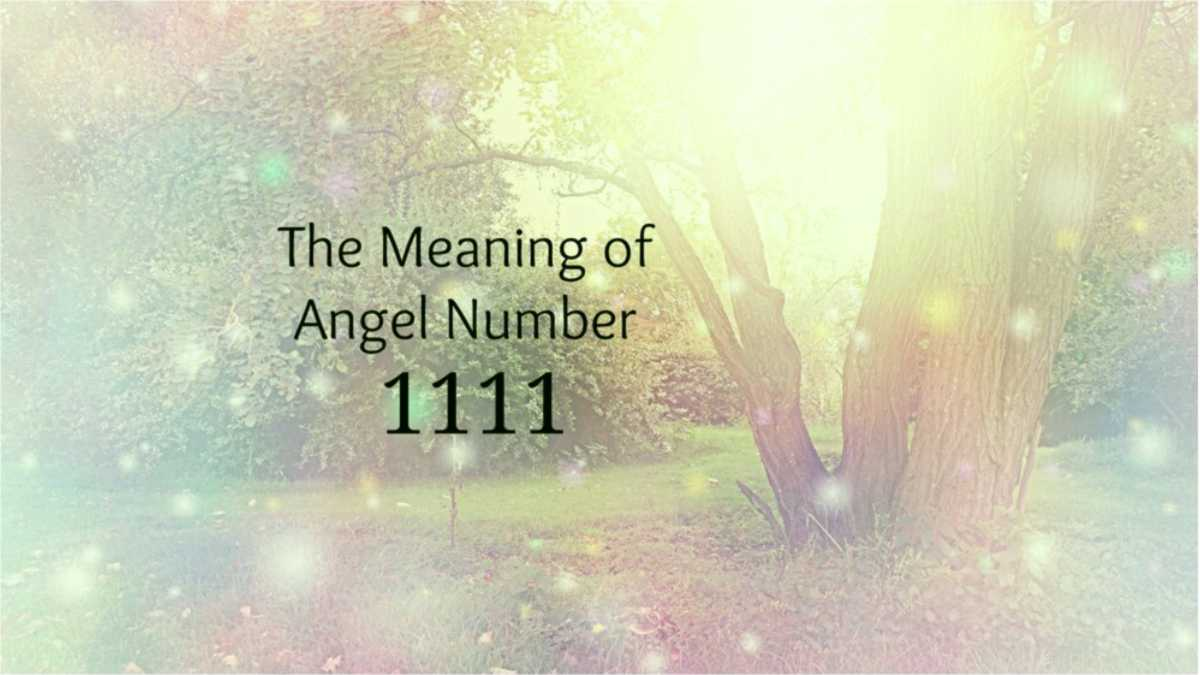 1111 angel number -- 1111 spiritual meaning -- 1111 meaning