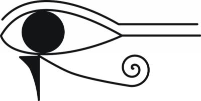 The eye of Horus -- spiritual protection symbols