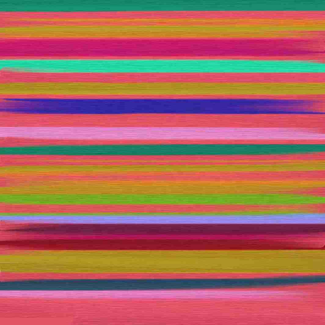 Image of colorful lines drawn to express anger as an art therapy ideas