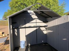 15 ft. x 18 ft. Lifetime Shed 2
