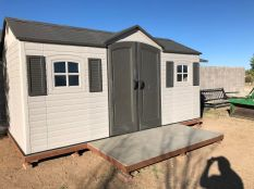 15 ft. x 18 ft. Lifetime Shed 1