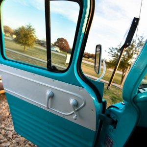1959 Chevy Apache Interior Drivers Side Door