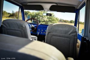 1977 Ford Bronco Interior Seats