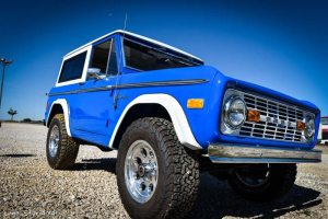 1977 Ford Bronco Front Passenger Side View
