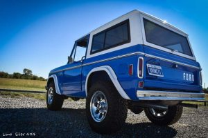 1977 Ford Bronco Rear Drivers Side View