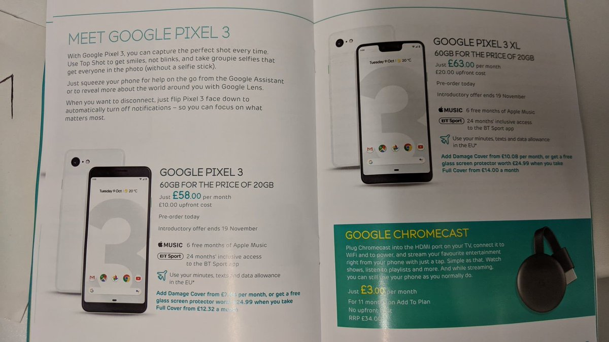 Google Pixel 3 XL hands-on reveals the phone in full