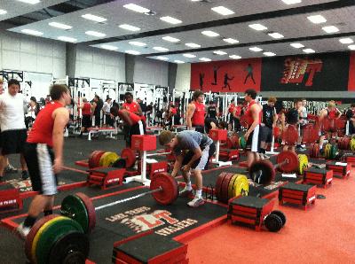 Austin Lake Travis Cavaliers Spring Workout - Texas high school football