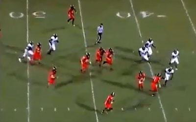fun crazy video, texas high school football