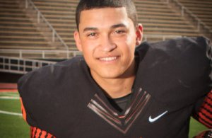 Texas high school football 1A Offensive Player of the Year