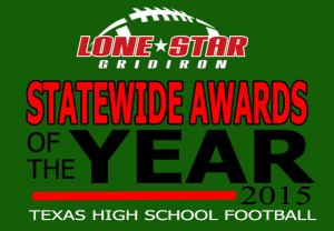 texas high school football awards 2015