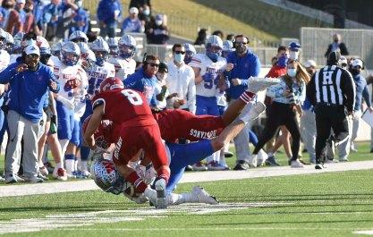 Austin Westlake vs Galena Park North Shore 1-9-21 by Samuel De Leon