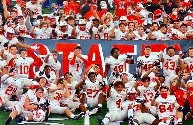 Katy Tigers 2020 State Champions
