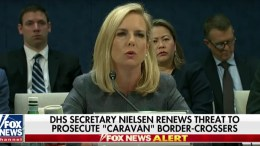 Homeland Security Secretary Kirstjen Nielsen Warning to Illegal Immigrants