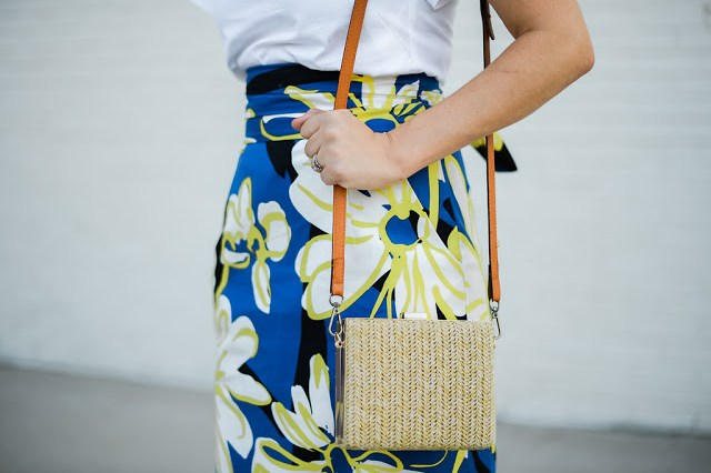 francescas straw purse