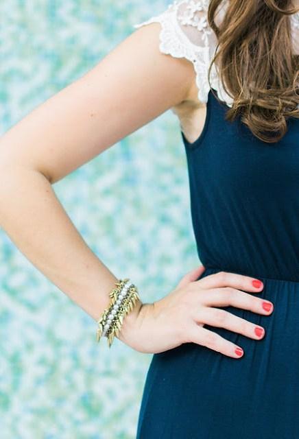 stella and dot gold pearl bracelet, jacinthe bracelet, stella and dot jacinthe bracelet