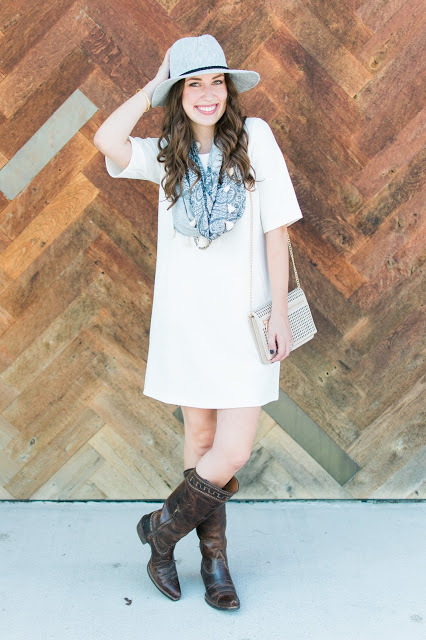 Sahara Boots, ariat sahara boots, brass a-line dress, lone star looking glass, alice kerley, houston fashion blogger, texas fashion blogger,