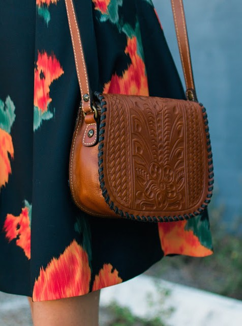 Patricia Nash Salerno Saddle Bag, saddle bag in florence, florence bag, patricia nash, patricia nash designs, patricia nash crossbody bag, patricia nash tooled leather bag