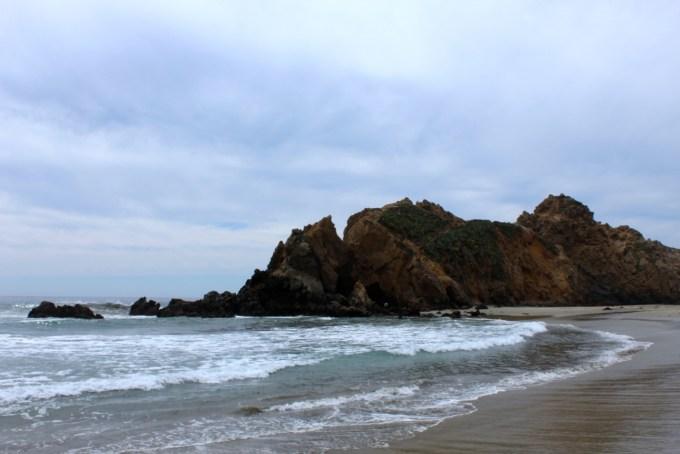 pfieffer beach big sur california