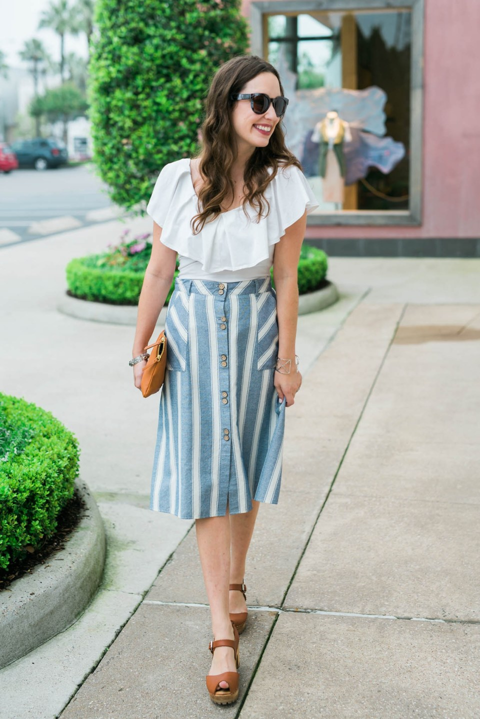 Striped_Midi_Skirt_Off_the_Shoulder_Top5