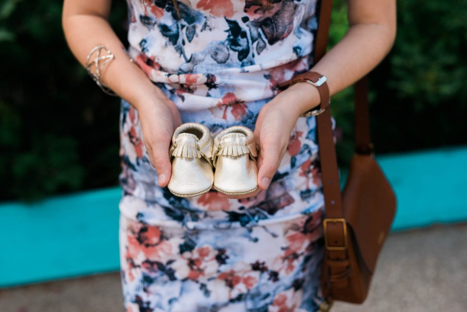 freshly picked moccasins, gold freshly picked moccasins, gold baby moccasins, freshly picked moccasins giveaway