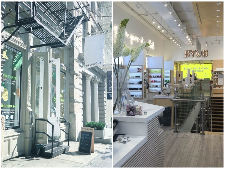 A visit to the Birchbox Store in SOHO New York City.
