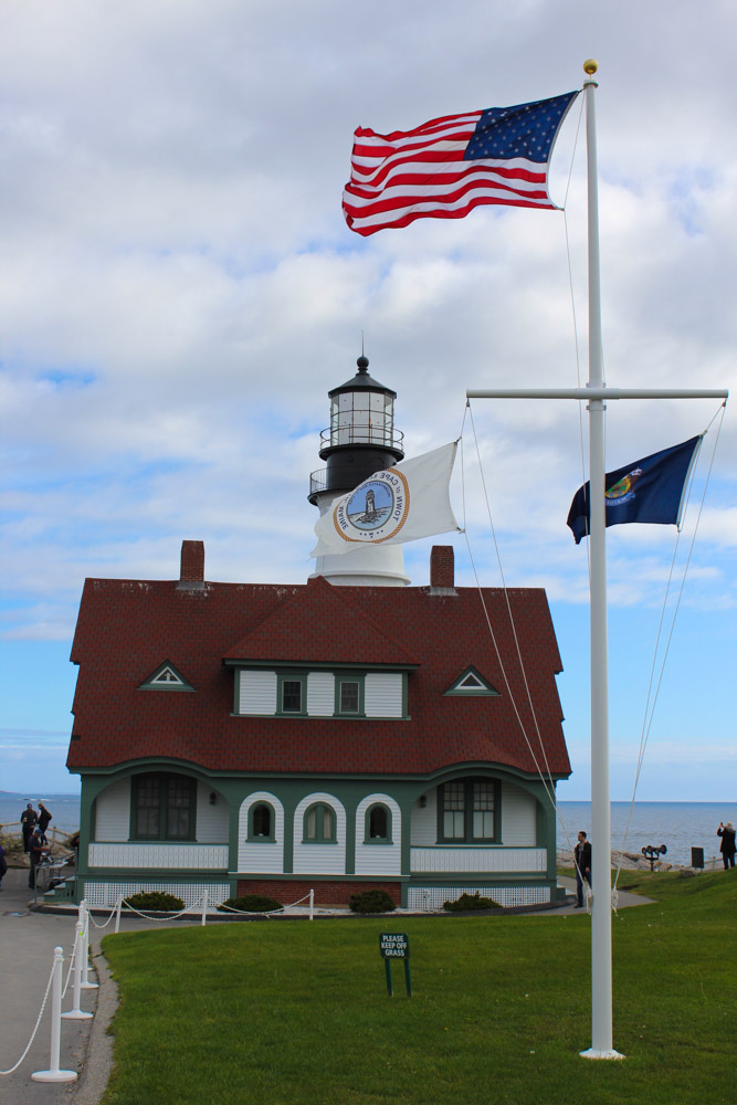 The Portland Head Light - Portland, Maine is one of the best places to babymoon in New England.