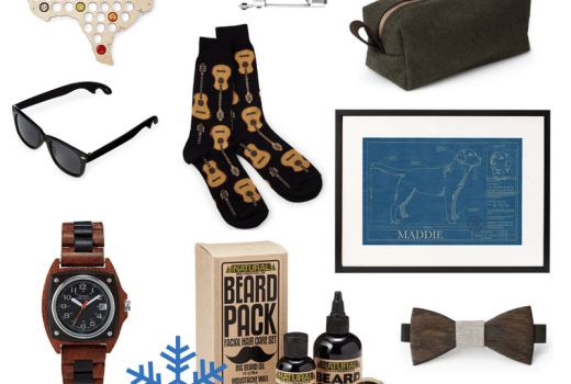 Holiday gift ideas for husbands, brothers, boyfriends, dads and more.