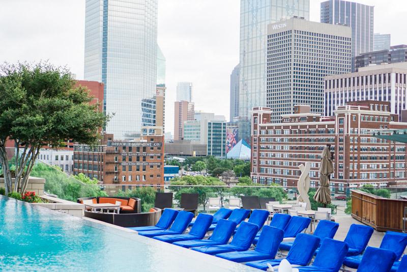 Omni Dallas Hotel Rooftop Pool